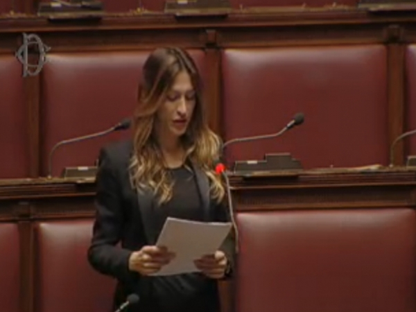 Intervento On. ELVIRA SAVINO (Forza Italia) - 21/03/2016
